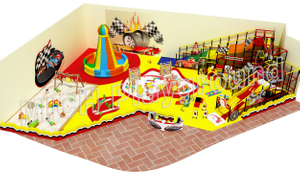 New Modern Wholesale Toddler Indoor Playground Set