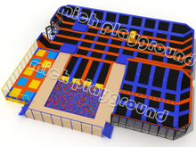MICH Indoor Trampoline Park Design for Amusement 5107A