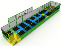 popular Kids trampoline amusement indoor jumping park