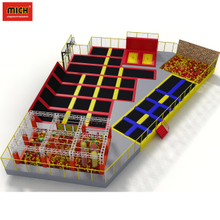 Large children indoor trampoline playground jump park