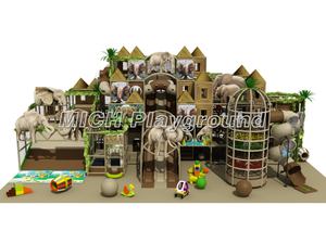 Jungle Themed Kids Indoor Soft Playground