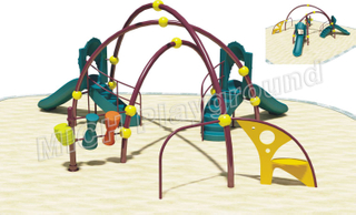 Kids Climbing Children Playground Equipment 1110A