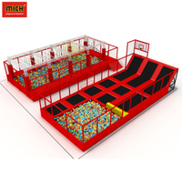 Factory Price New Design Commercial Indoor Trampoline Park