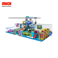 Delicate Kids Indoor Soft Playground with Glider