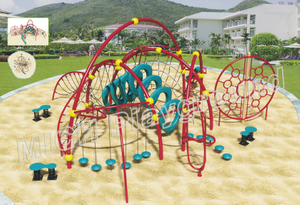 Kids Outdoor Climbing Rope Structure Wholesale