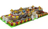 Funny hot sale Kids Indoor Playground Equipment 7015A