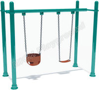 Outdoor playground baby swing 1114B