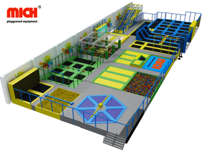 Mich ASTM Certificated Indoor Trampoline Park For Sale