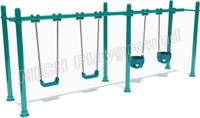 Outdoor playground baby swing 1116A