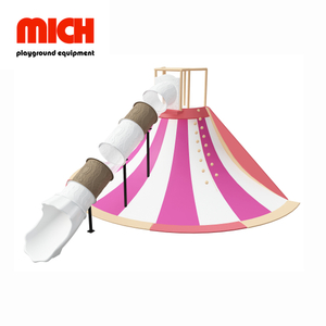 MICH Indoor Volcano Slide Playground Facility for Kids