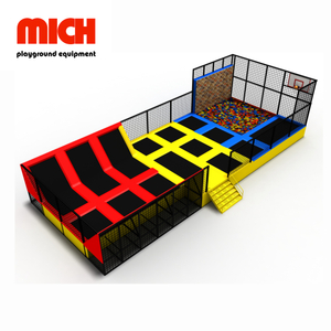 Multifunctional Indoor Trampoline Park Jumping Sports Equipment
