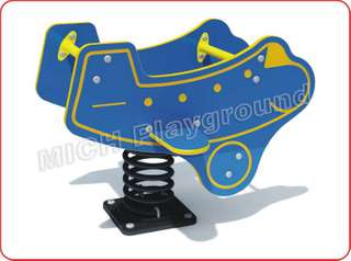 Aircraft Animated Outdoor Spring Rocking Horse