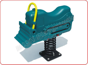 Plastic spring rocking horse 1126A