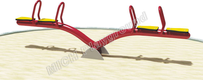 Used Children's Spring Playground Seesaw 1119B