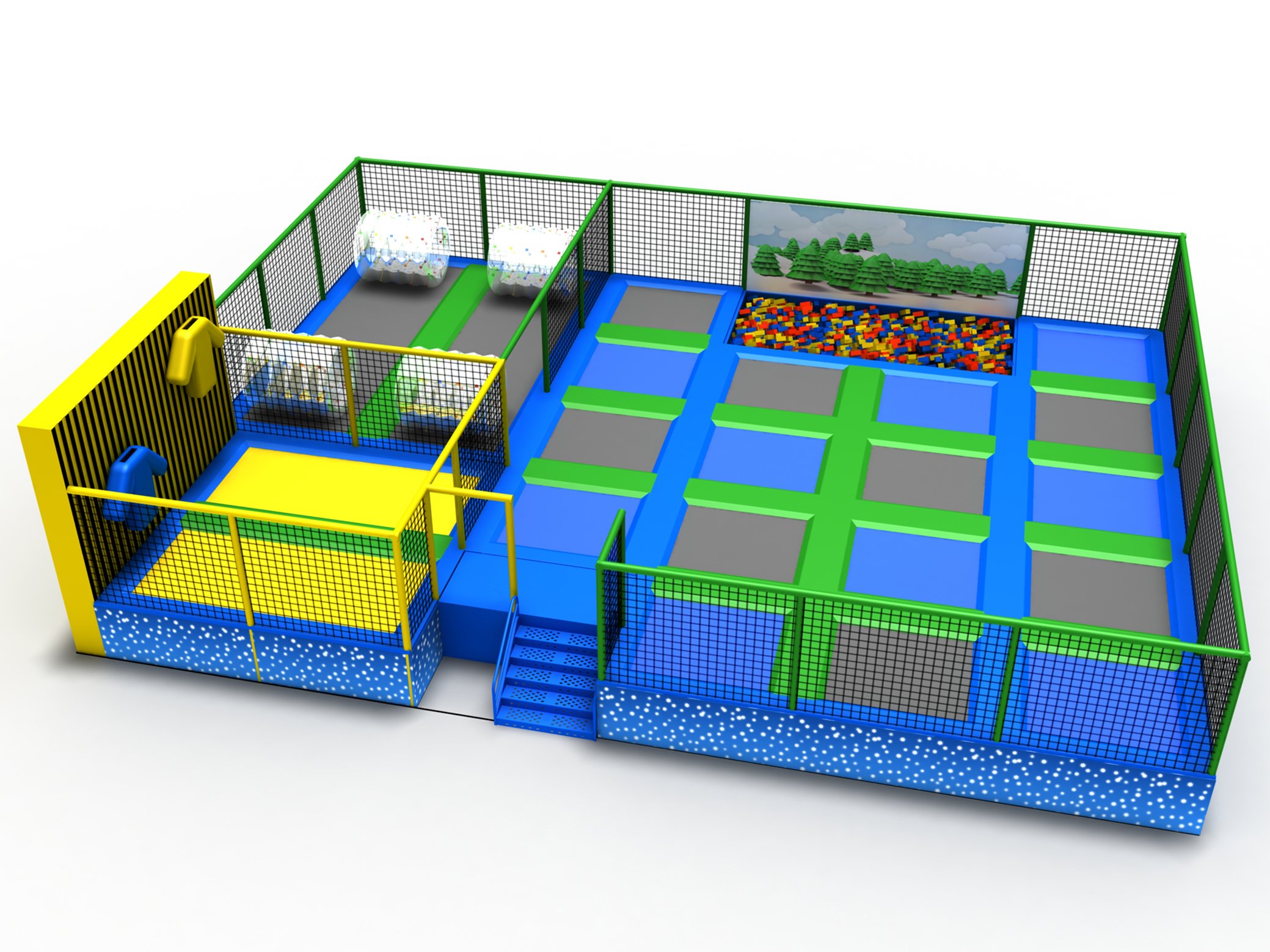 Brief introduction of trampoline park