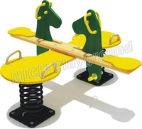 Used Children's Spring Playground Seesaw 1123C