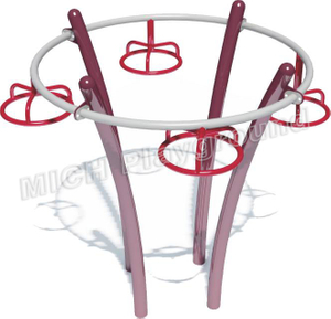 Round Shape Outdoor Climbing Frame with Holding Bars