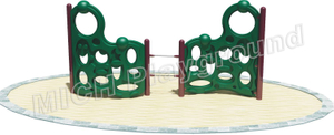 Toddler Plastic Outdoor Climbing Frame