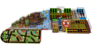 EN1176 Certificated Toddler Indoor Playground