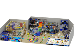 Manufacture Customized Kids Indoor Playground for Sale