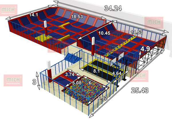 The Indoor Trampoline Park Purchasing Guide