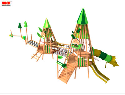 Why do your kids like to go outdoor modular playground with slides?