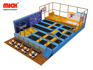 High Performance Indoor Olympic Trampoline Park