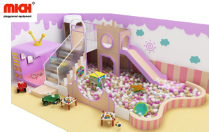 Mich Kids Indoor Soft Ball Pit House for Big Kids