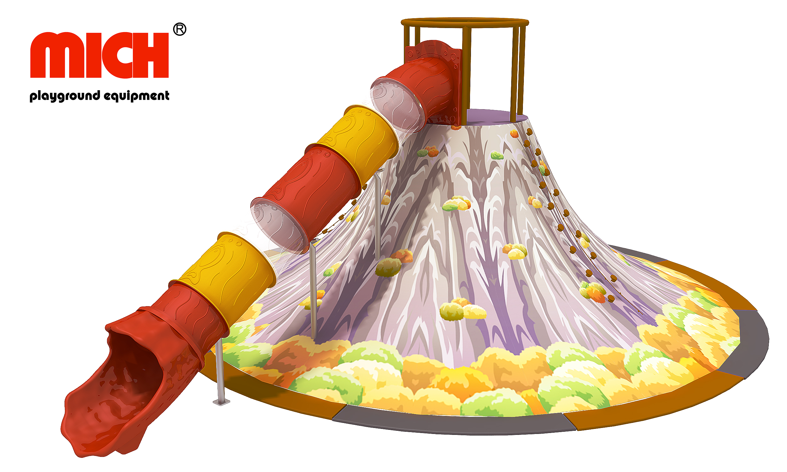 Mich Customized Climbing Indoor Volcano for Sale