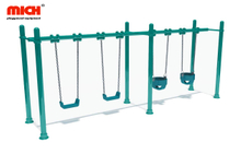Outdoor Playground Four Sits Kids Swing Set for Sale