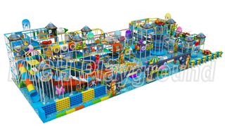 EN1176 Certificated Kids Indoor Playground