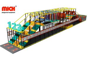 Custom Kids Indoor Race Game Playground