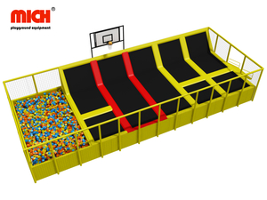 Small Indoor Trampoline with Net Manufacture