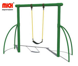 Outdoor Playground Kids Single Seat Swing Set for Sale