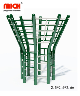 Galvanized Outdoor Body Stretch Fitness Equipment with Vertical Ladder, Climbing Structure for Sale