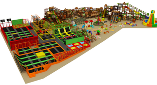 4000sqm Large Commercial Indoor Playground