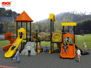 MICH Customized Outdoor Big Slides Playset