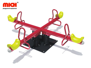 Kids School/ Kindergarten Outdoor Playground Four Seats Seesaw for Sale