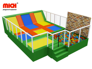 Customized Small Indoor Trampoline Park