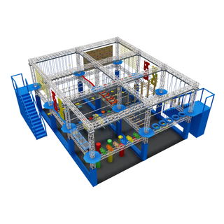Custom Commercial 2 Levels Rope Course