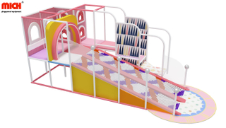 Whole Sale Cute Colorful Indoor Roller/ Donut Slide