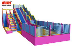 Indoor Big Slides Playground for Kids Adults