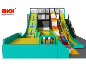 Custom Commercial Large Indoor Slides Park