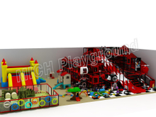 Kids Amusement Soft Indoor Playground 6619B