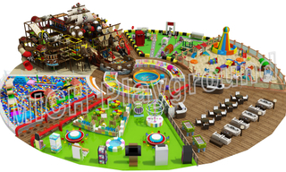 Large Toddler Indoor Play Centre