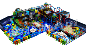 Custom Children Indoor Play Centre Setup